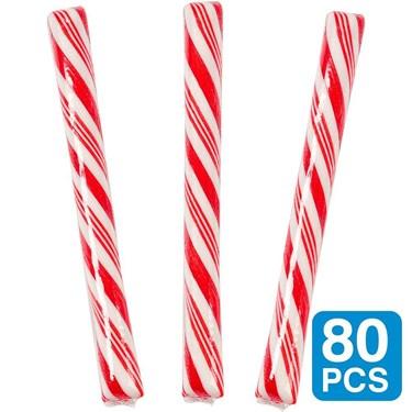 Cherry Red 5 Candy Sticks (80)