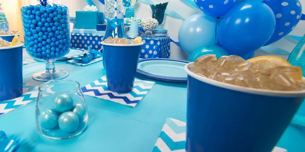 Alt. Image (1) - Chevron True Blue Party in a Box