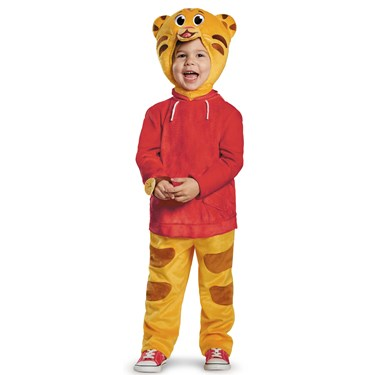 Childrens Deluxe Daniel Tiger Costume