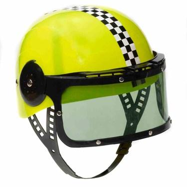 Child's Race Car Helmet