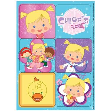 Chloe's Closet Stickers
