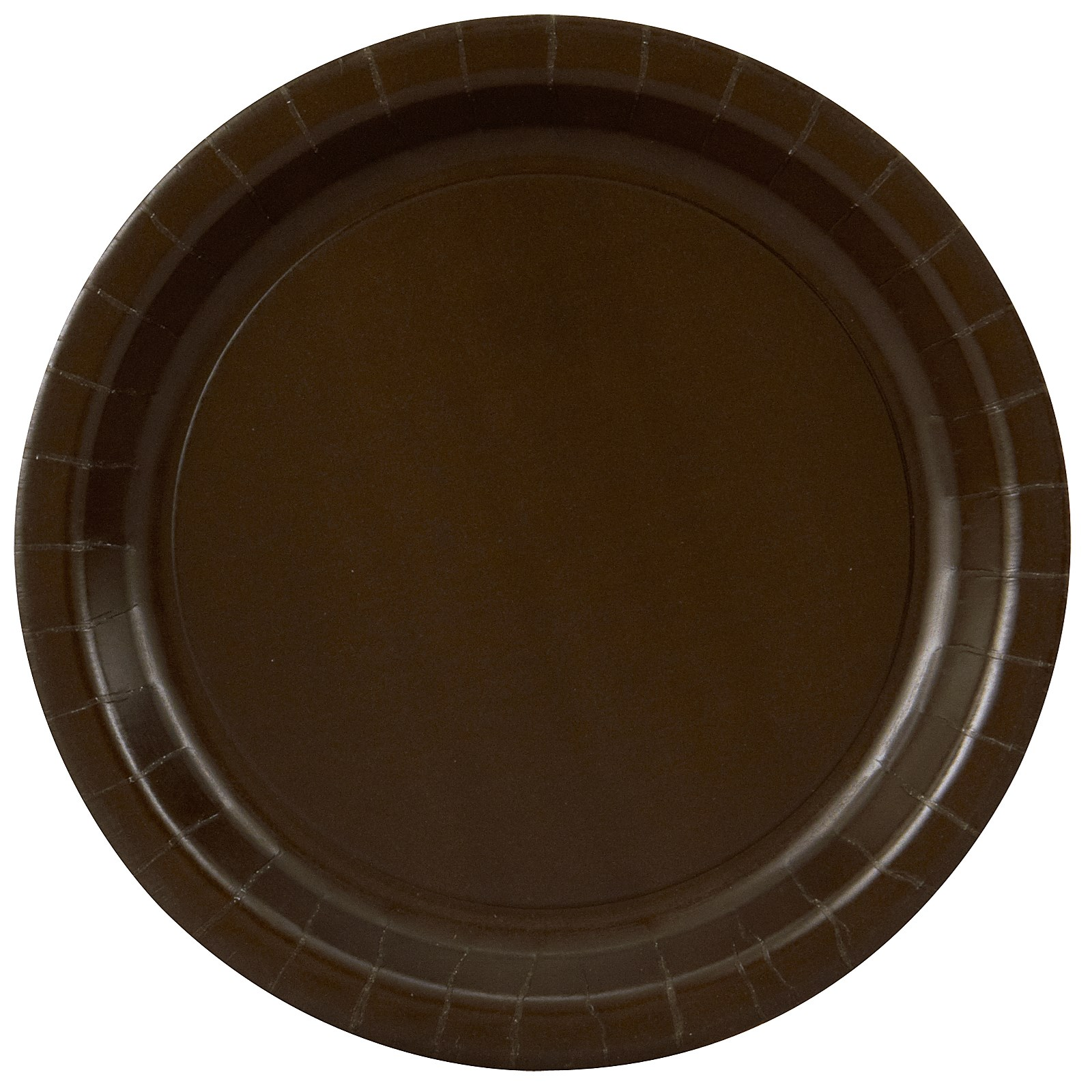 Chocolate Brown (Brown) Dinner Plates | BirthdayExpress.com