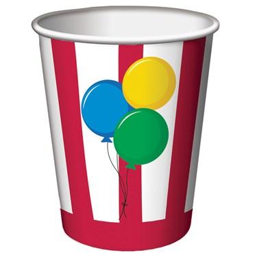Circus Time 9oz Cups (8)