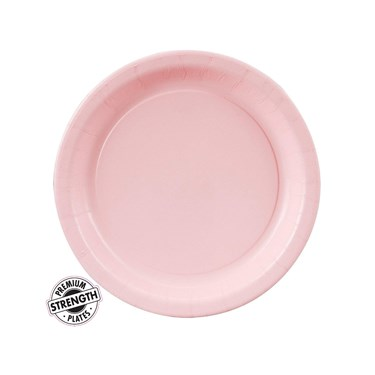 Classic Pink (Light Pink) Dessert Plates