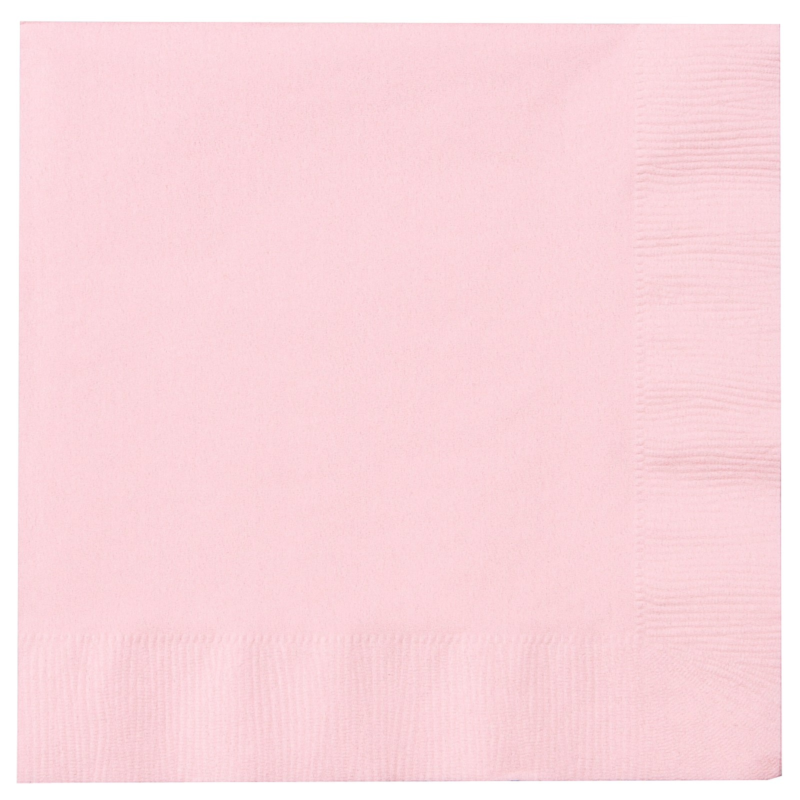 Classic Pink (Light Pink) Lunch Napkins | BirthdayExpress.com