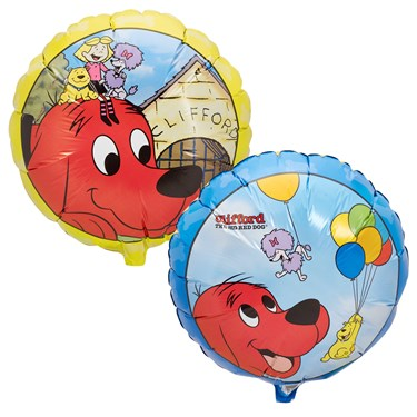 Clifford The Big Red Dog Foil Balloon