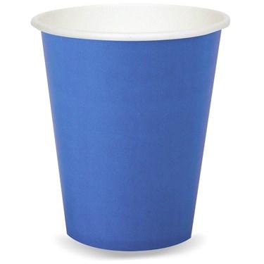 Cobalt Blue 9 oz. Paper Cups