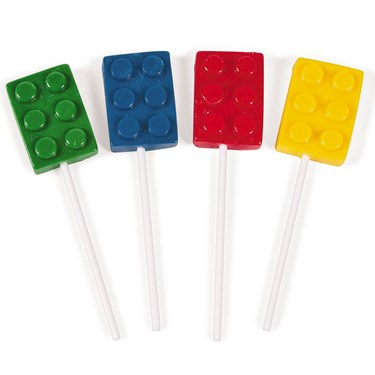 Color Brick Suckers (12)