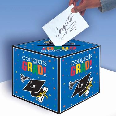Congrats Grad Graduation Card Box