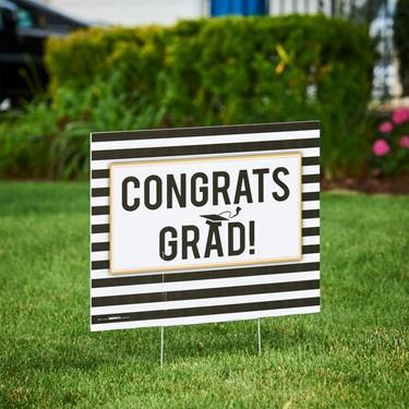 Congrats Grad Yard Sign