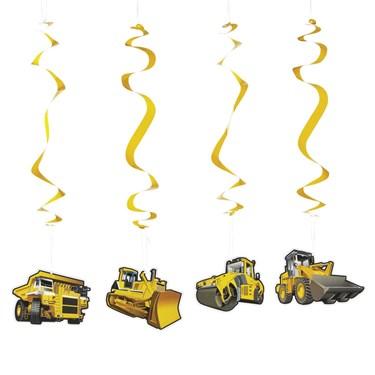 Construction Dangling Swirls(12)
