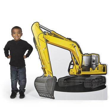 Construction Excavator Stand Up