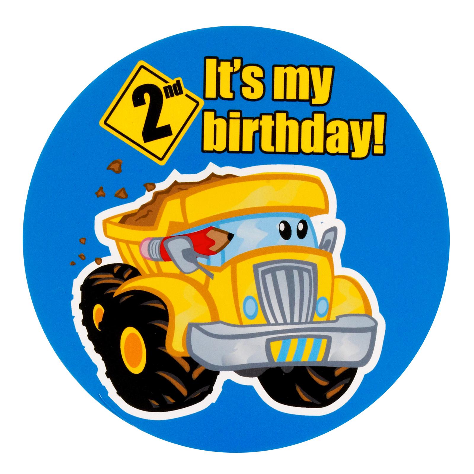 Construction Pals 2nd Birthday Invitations – Tonka Birthday Invitations