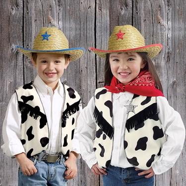 Cow Print Vest