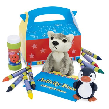 Crayon Party Filled Party Favor Box