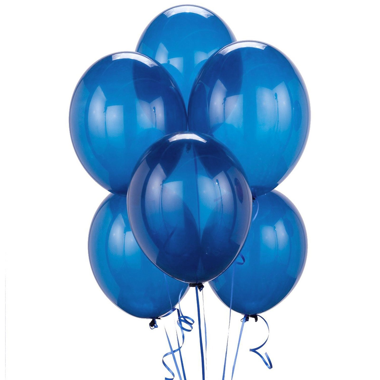 Green and blue balloons - Crystal Blue Balloons 6