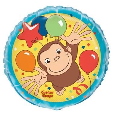 """Curious George 18"""" Balloon (1)"""