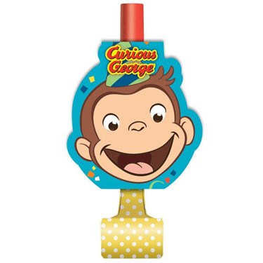 Curious George Blowouts (8)