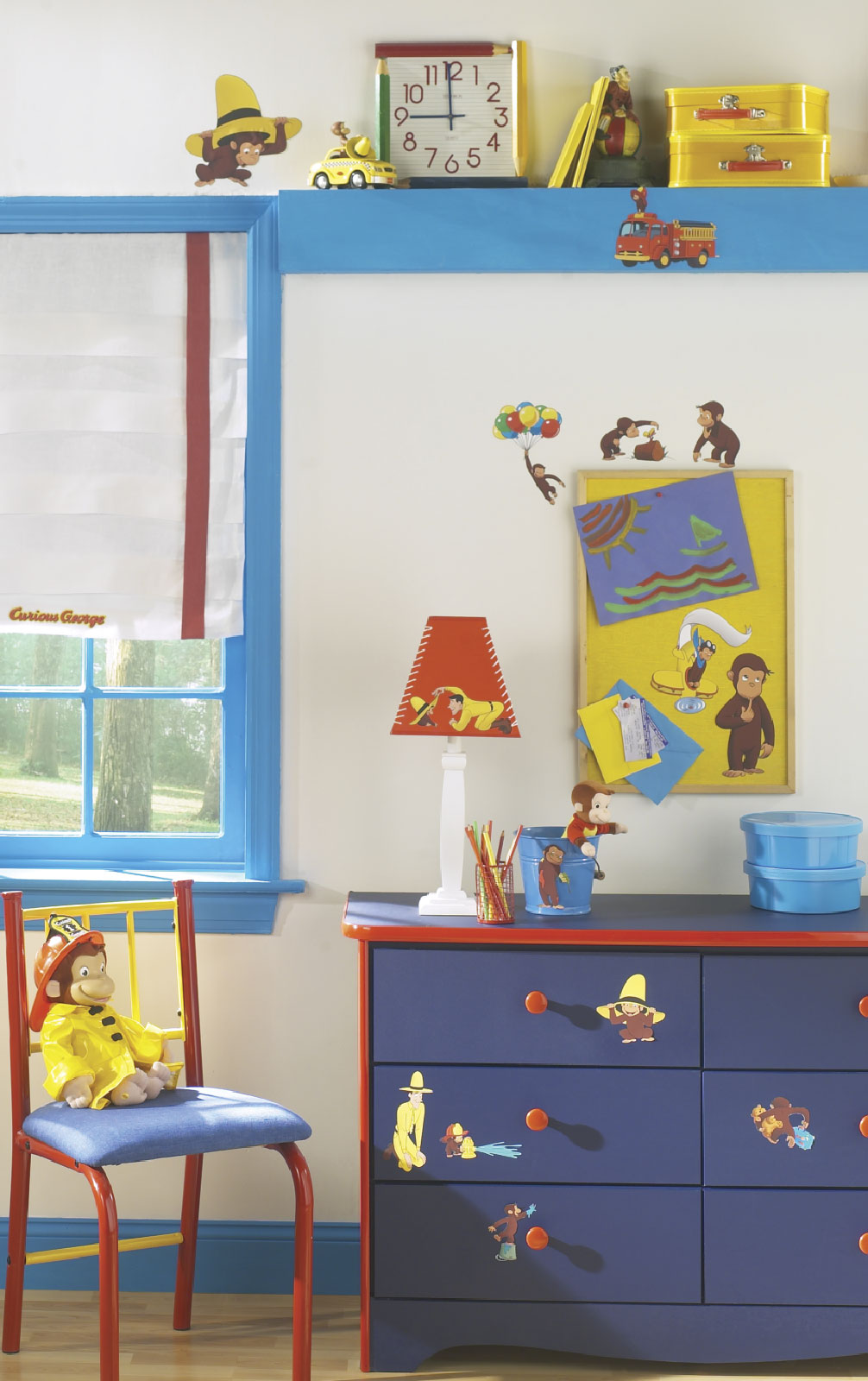 Good ... Alt. Image (1)   Curious George Small Wall Decals Part 32