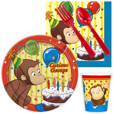 Curious George Snack Pack for 16
