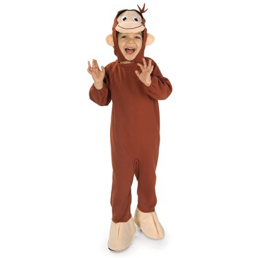 Curious George Toddler and Child Costume