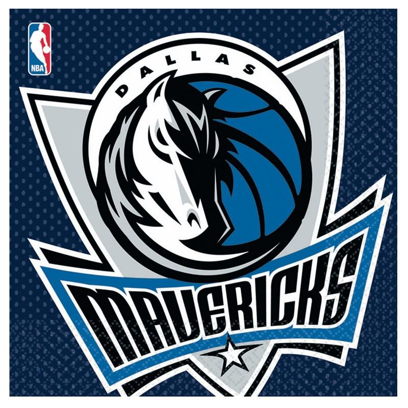 Dallas Mavericks Basketball - Lunch Napkins ...