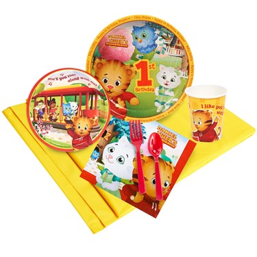 Daniel Tiger's Neighborhood 1st Birthday Party Pack