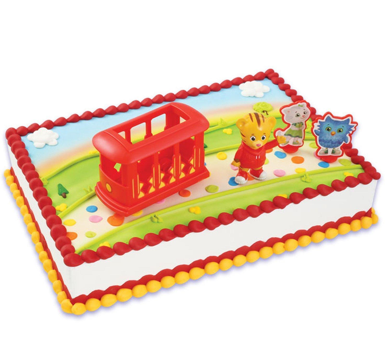 How To Make A Daniel Tiger Birthday Cake