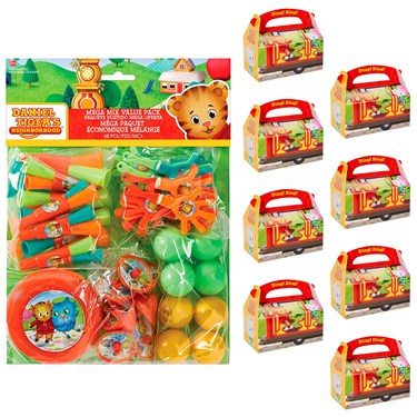 Daniel Tiger's Neighborhood Filled Favor Box Kit  (For 8 Guests)