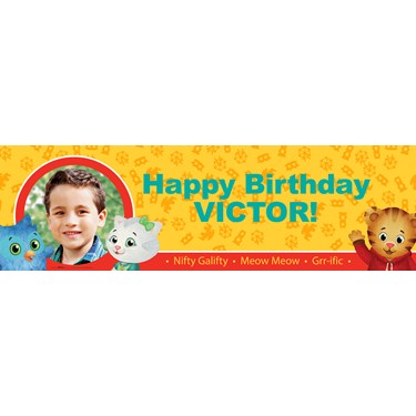 Daniel Tiger's Neighborhood Personalized Photo Banner