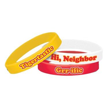 Daniel Tigers Neighborhood Rubber Bracelets(6)