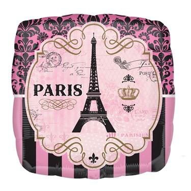 """Day In Paris Jumbo Foil Balloon (28"""")"""