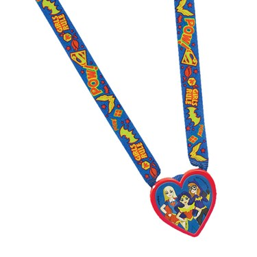 DC Super Hero Girls Charm Necklace Favor