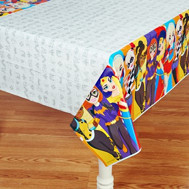 DC Super Hero Girls Printed Tablecover