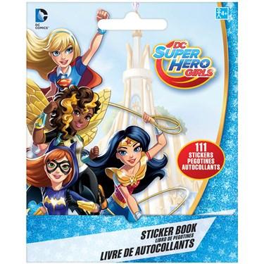 DC Superhero Girl Sticker Booklet(1)