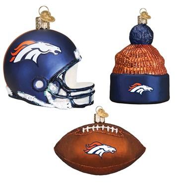 Denver Broncos Christmas Ornaments