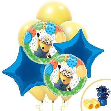 Despicable Me Minions Balloon Bouquet Kit