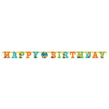 Despicable Me Minions Birthday Banner (1)