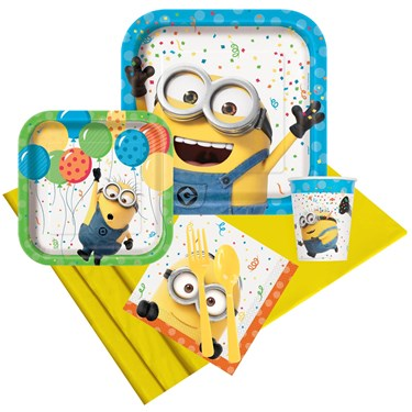 Despicable Me Minions Party Pack for 8