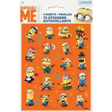 Despicable Me Sticker Sheet (4)