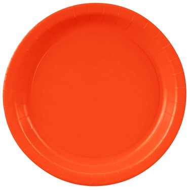 Dinner Plate - Tangerine