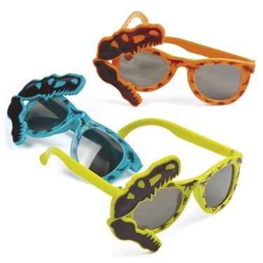Dino Dig Plastic Sunglasses(12)