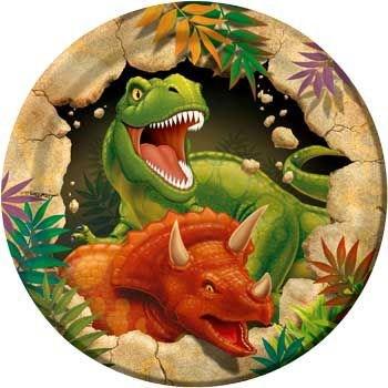 Dinosaur Adventure Cake Plates