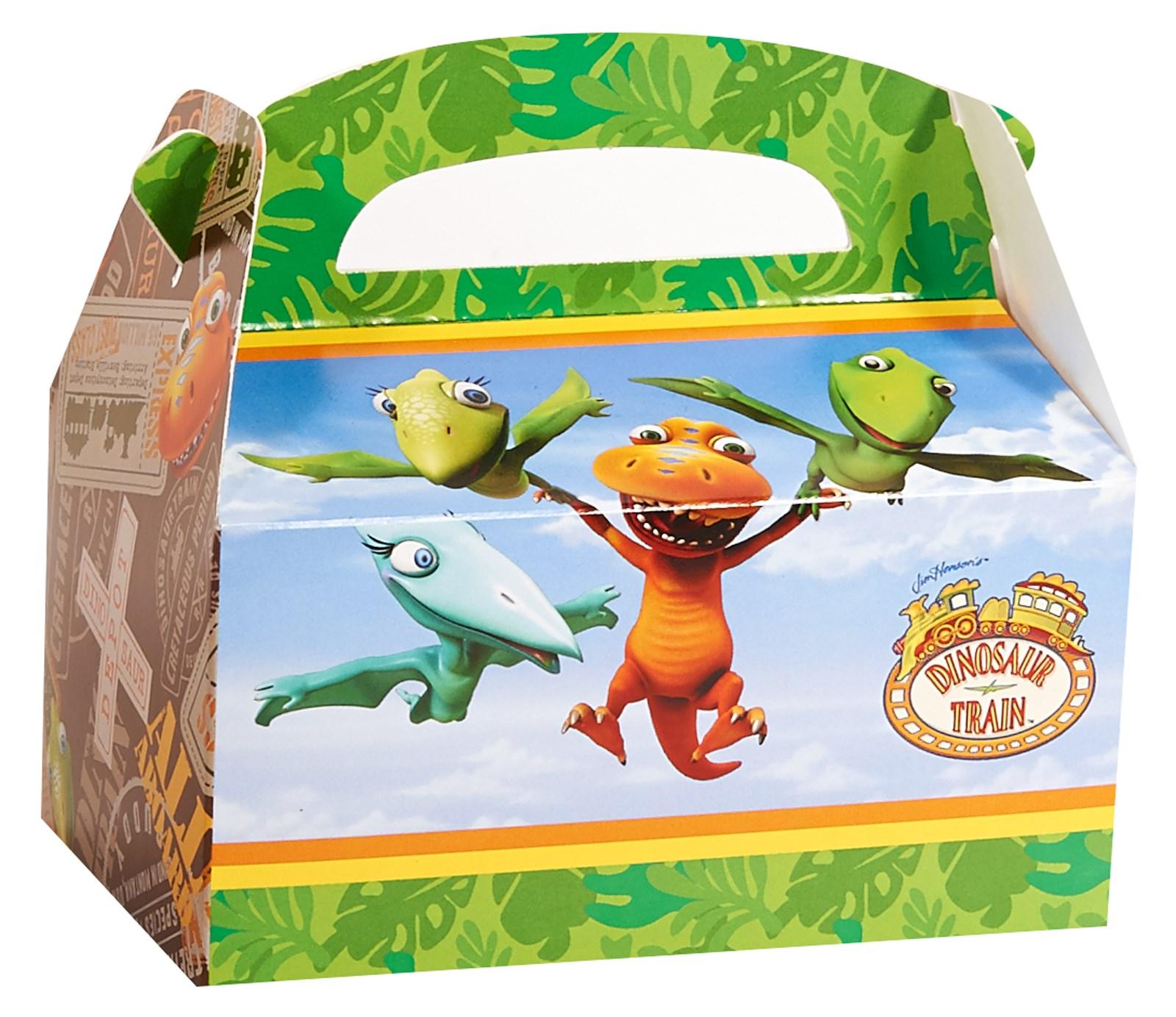 Dinosaur Train Empty Favor Boxes (4)
