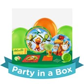 Dinosaur Train Party in a Box For 8