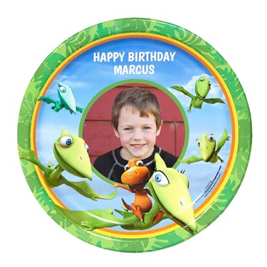 Dinosaur Train Personalized Dinner Plates (8)