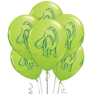 Dinosaurs Latex Balloons (6)
