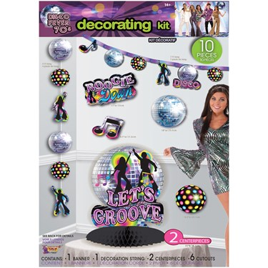 Disco Party DecorDecor Kit(10)