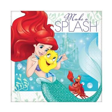 Disney Ariel Dream Big Beverage Napkins