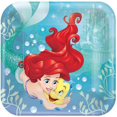 Disney Ariel Dream Big Dinner Plates (8)
